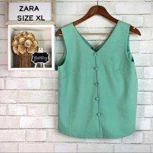 Zara | Mint Green Tank